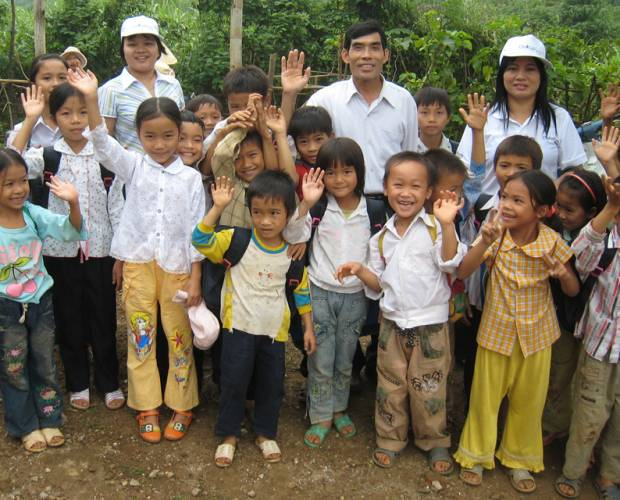 Ha reflects on two decades helping children in Vietnam