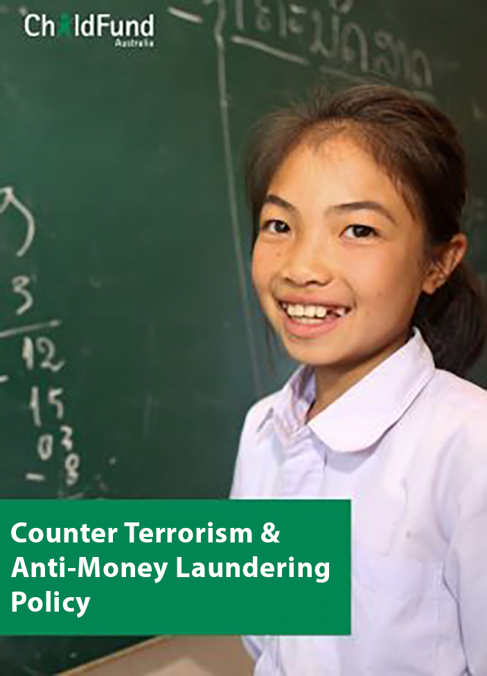 Counter Terrorism and Anti-Money Laundering Policy