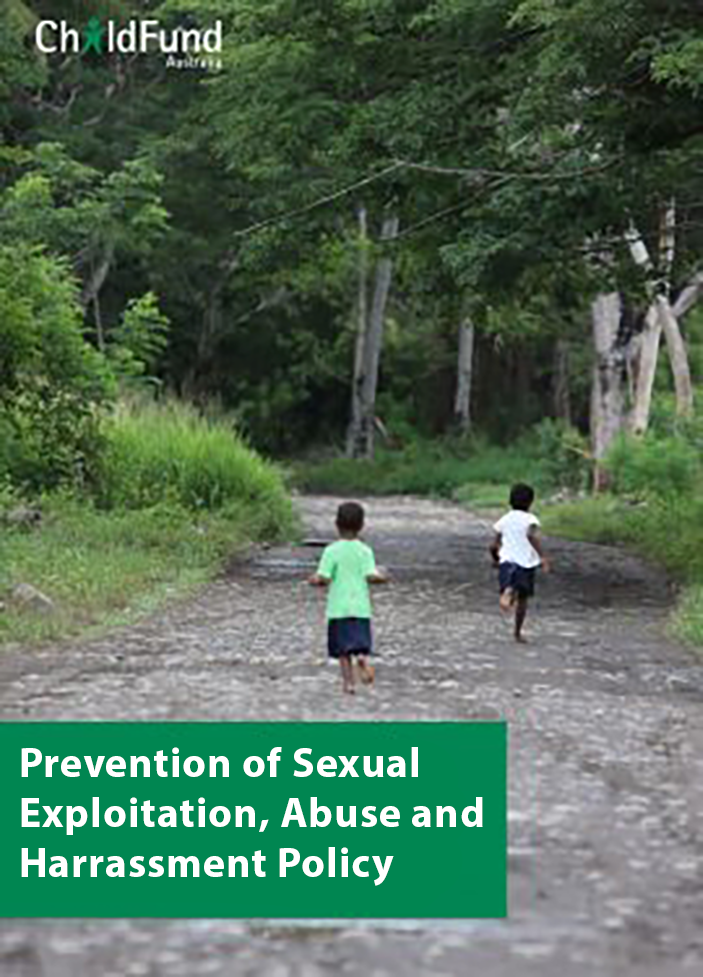 Prevention of Sexual Exploitation, Abuse & Harassment (PSEAH) Policy