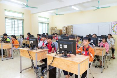 Bringing the world to a small village in Vietnam