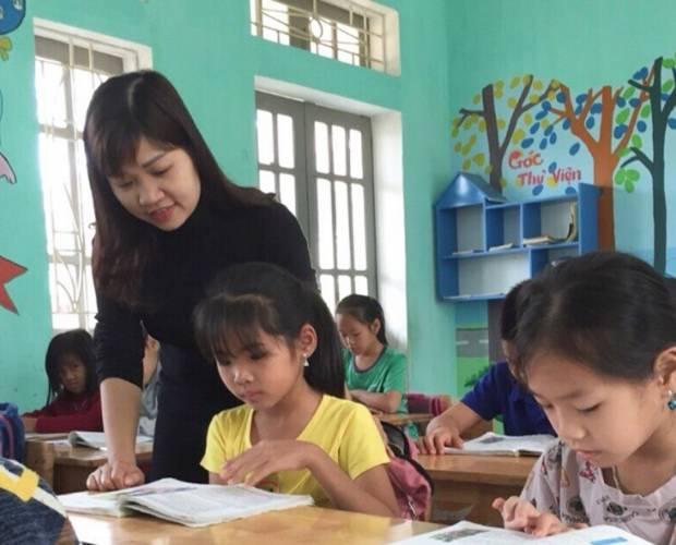 Ms. Thu Cao Le – A dedicated teacher